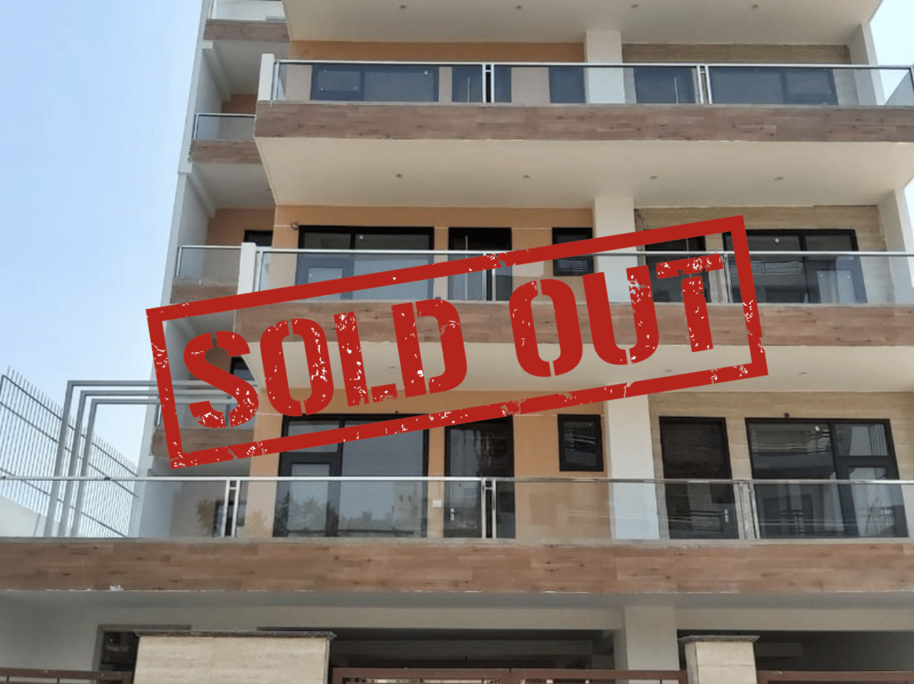 4 BHK Builder Floor in South City 2, Gurgaon Sold Out