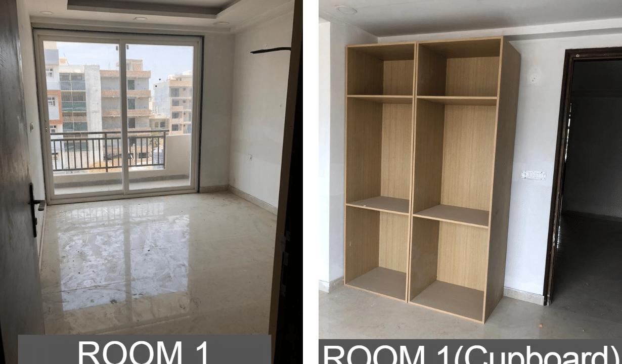 Builder Floor in Sushant Lok 2 in Sector 57 Room