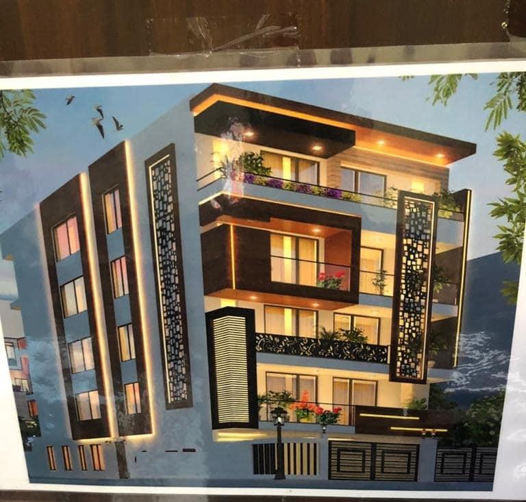 4 BHK Builder Floor in Sector-54 Suncity, Gurgaon