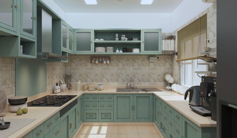kibithu villas kitchen