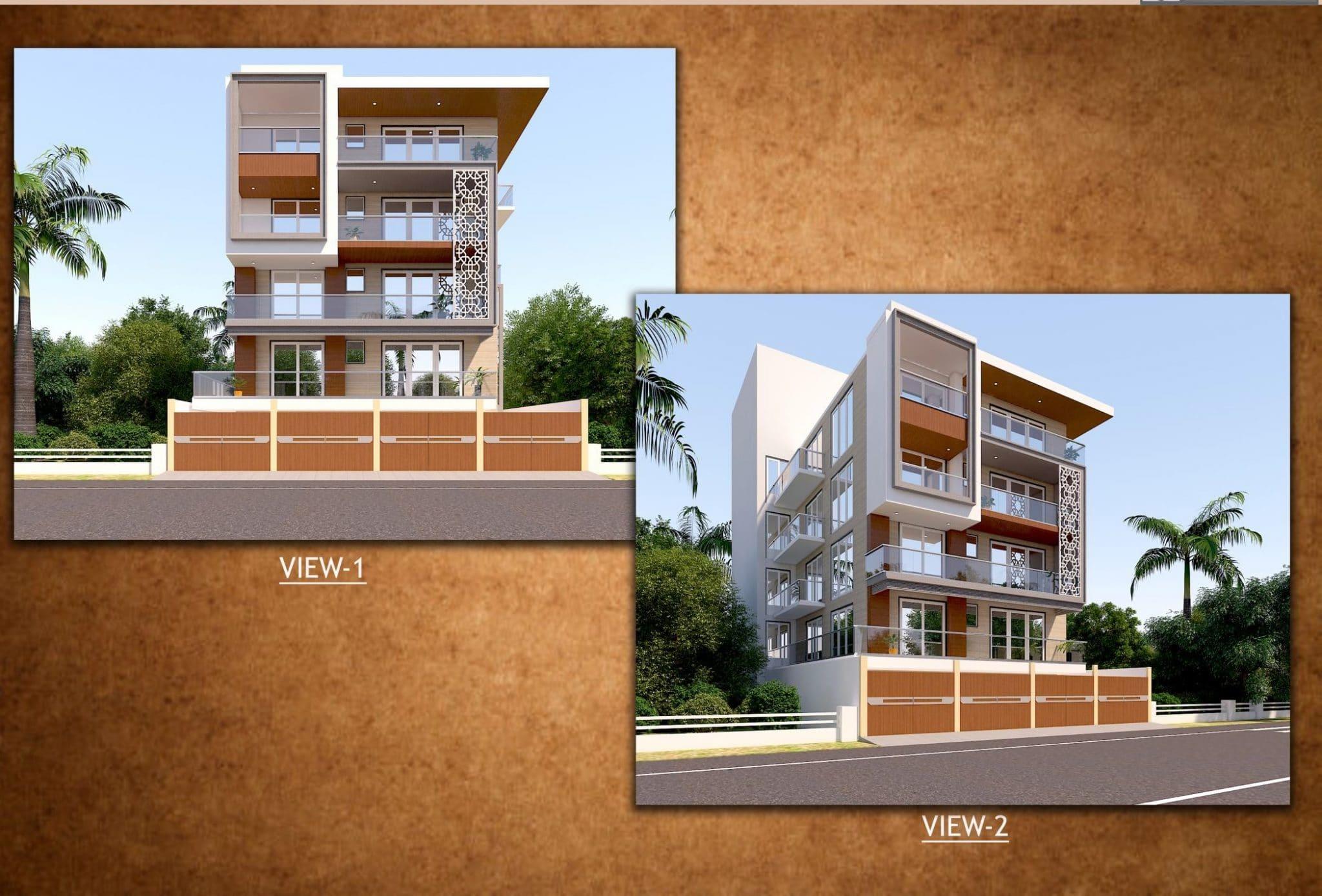 4 BHK Builder Floor in Sushant Lok Phase 2, Sector-56 Gurgaon