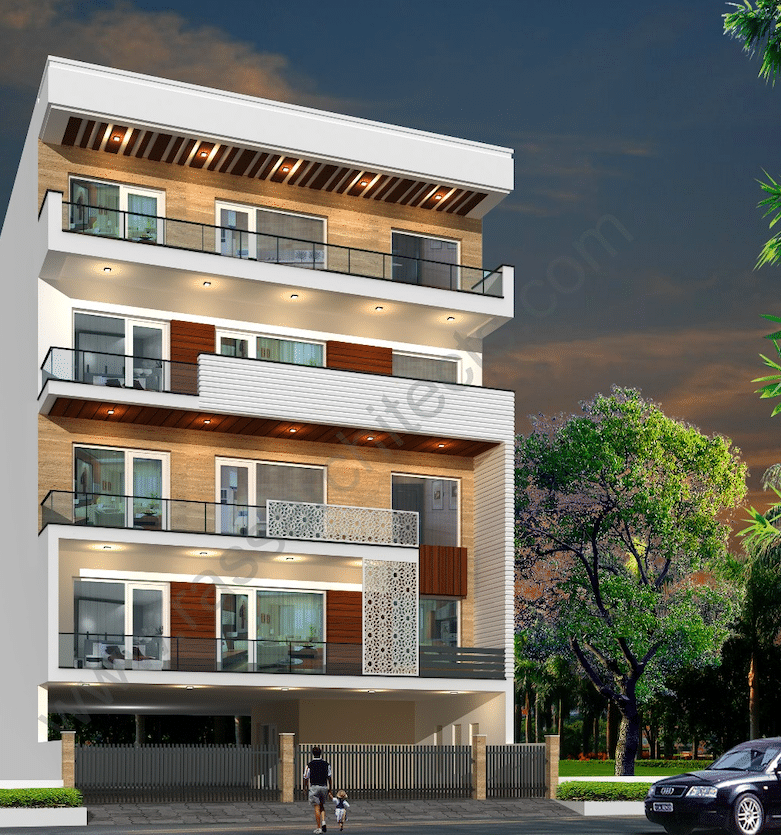 3 BHK Builder Floor in South City 1, Gurugram