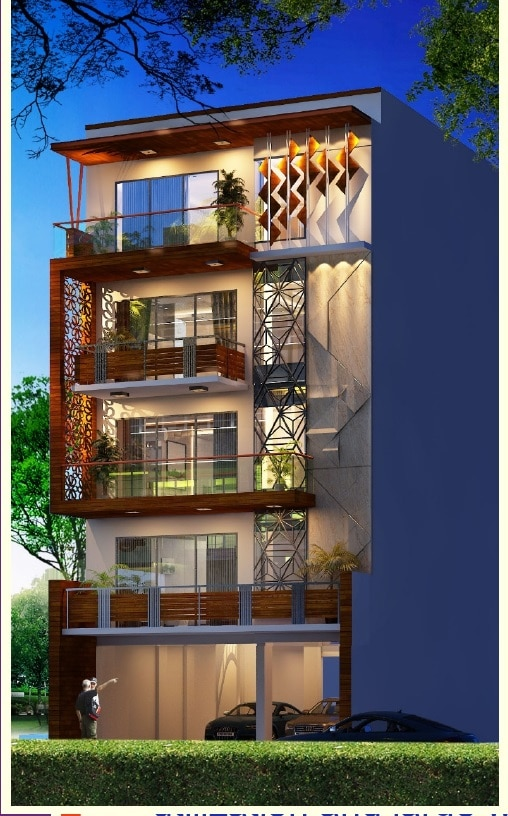 3 BHK Builder Floor in DLF Phase I with Powder Room, Gurgaon