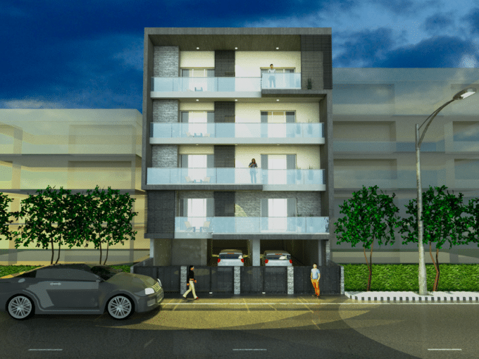 Ready to Move in 3 BHK Builder Floor in Sector 56, Gurgaon