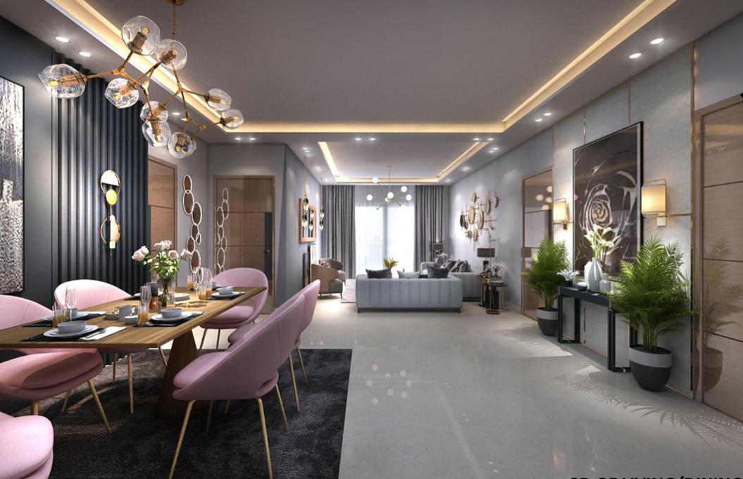 Ultra Luxury 4 BHK Builder Floor in South City 1, Gurugram image 5