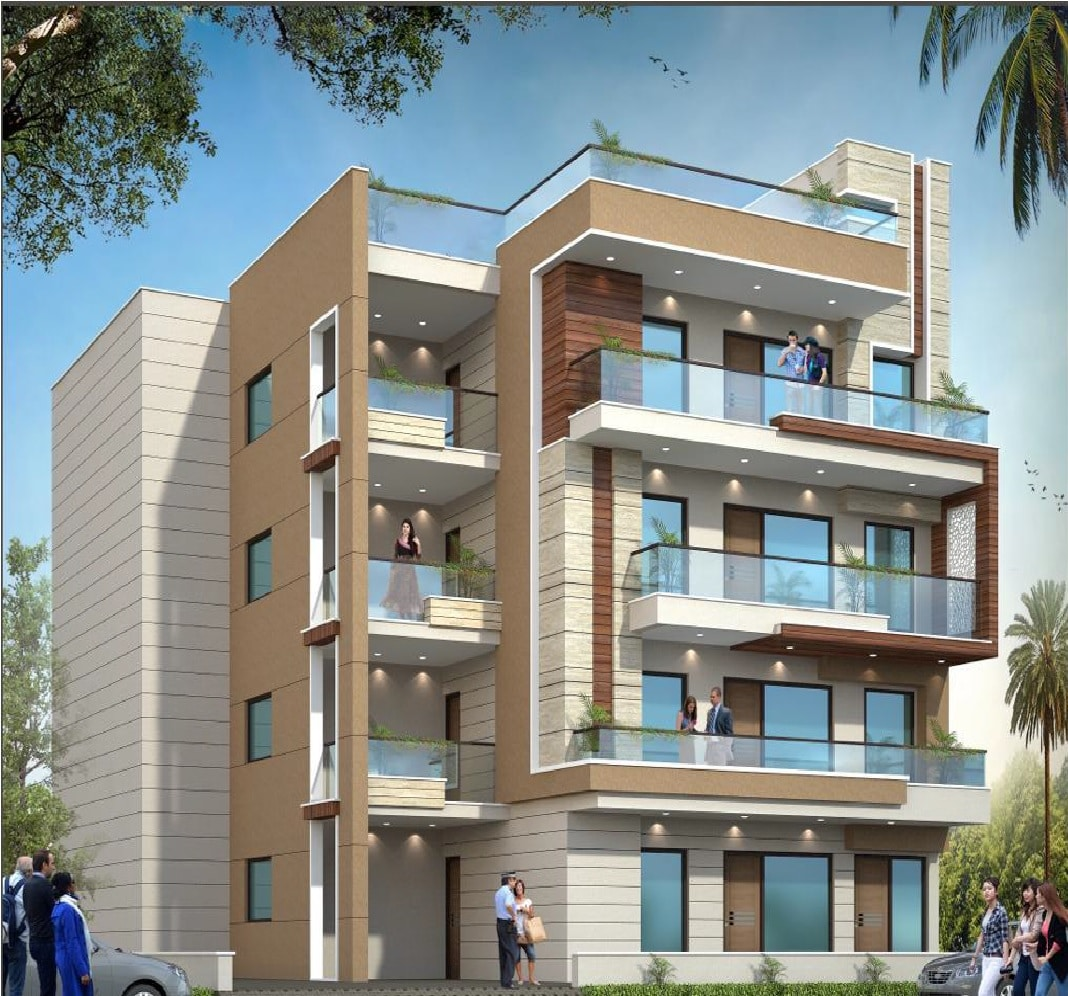 4 BHK Builder Floor in Ansal Esencia Sector-67, Gurgaon