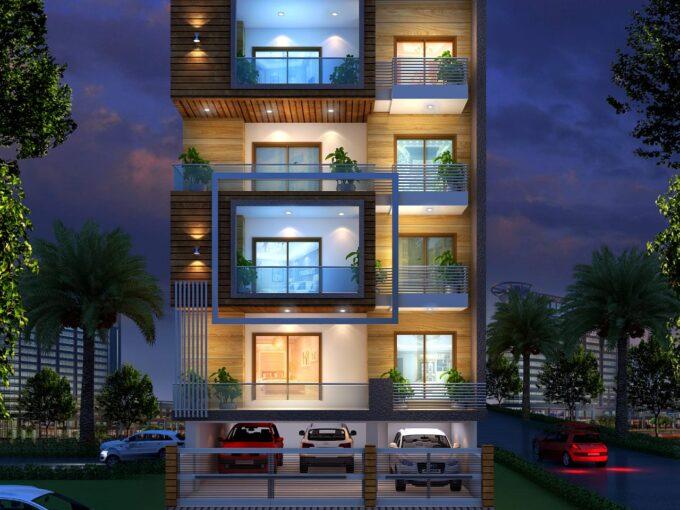 Ultra Luxury 4 Bhk Builder Floor in DLF Phase 2, Gurugram