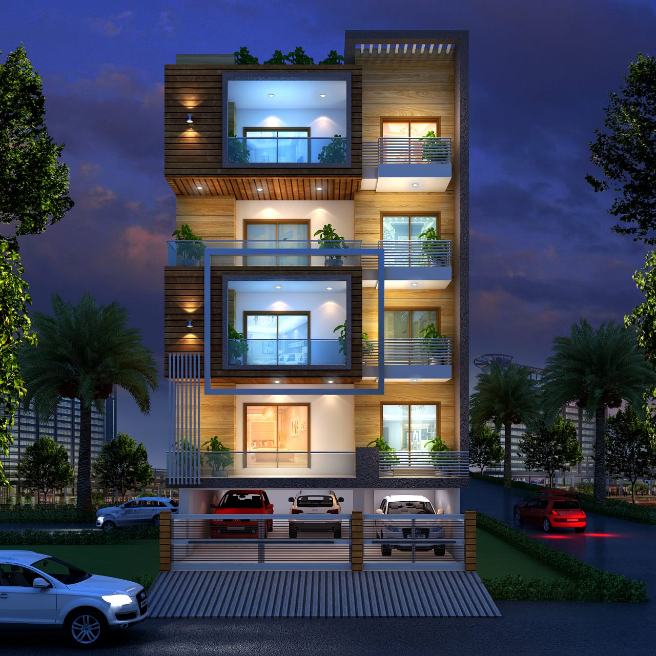 Ultra Luxury 4 Bhk Builder Floor in DLF Phase 2, Gurugram